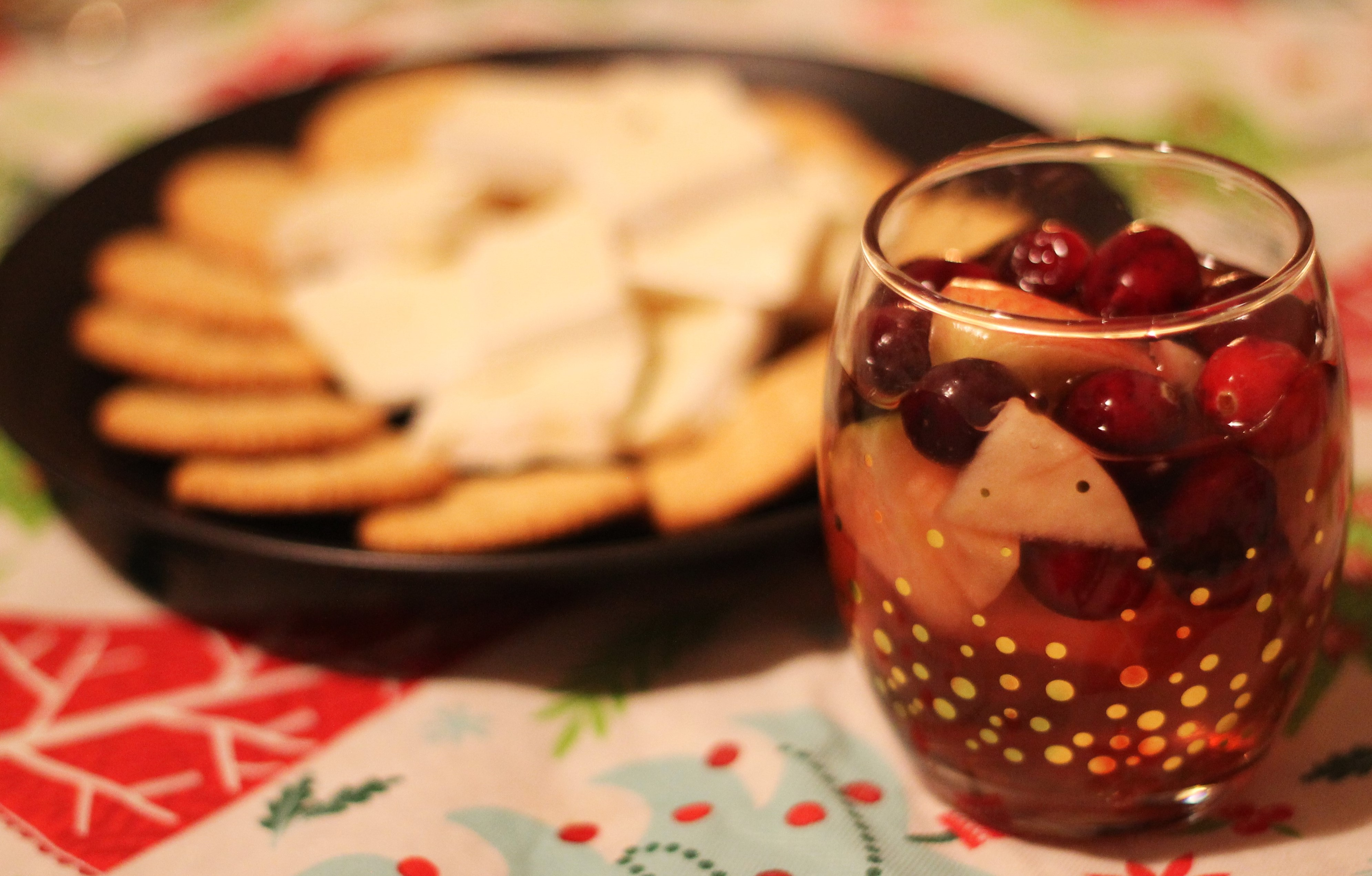 Sweet Christmas Sangria