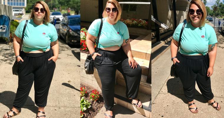 Fashion Fave: Plus Size Harem Joggers